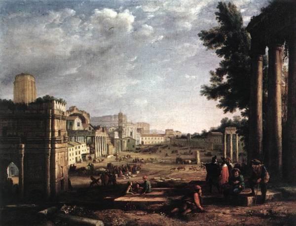 The Campo Vaccino Rome WGA
